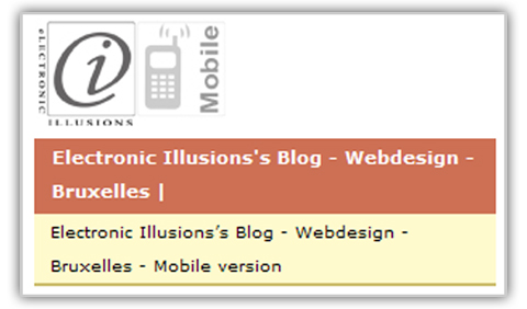 Electronic Illusions's blog en version Mobile !