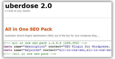 Uberdose SEO all in one pack