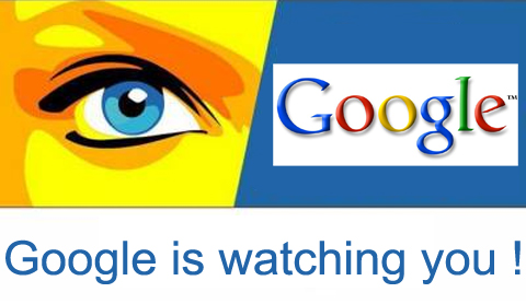 Google is watching you : eye tracking study