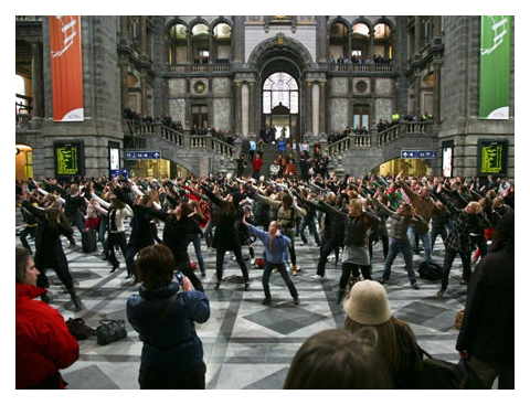 flashmob-gare-station
